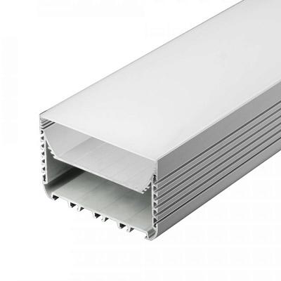 Профиль с экраном ALU-POWER-W8070-2000 ANOD+FROST Arlight 018952