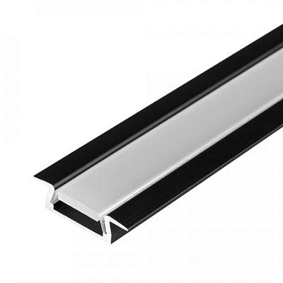 Профиль MIC-F-2000 ANOD Black Arlight 015039