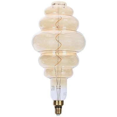 Большая декоративная колба #1 LED Е27 6W теплый свет (45.040)