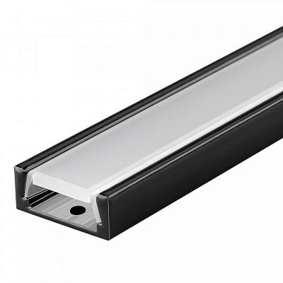 Профиль MIC-2000 Black RAL9005 Arlight 020235