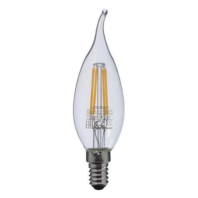 Прозрачная Свеча LED E14 4.5W тёплый свет (45.034)