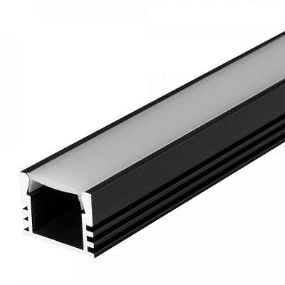 Профиль PDS-S-2000 ANOD Black Arlight 020896