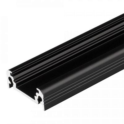 Профиль TOP-SURFACE-2000 BLACK (K13, P15) Arlight 021784