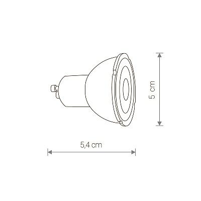 Лампа Nowodvorski REFLECTOR LED GU10 R50 7W 4000K 9178